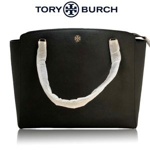 ✨Tory Burch EMERSON LARGE TOP ZIP TOTE✨!BRAND NEW!